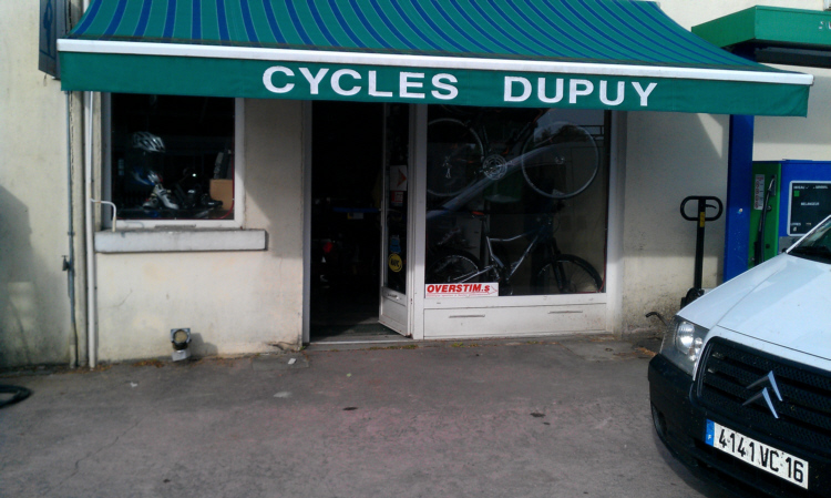 bicycle hire shop