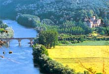 france holiday house dordogne river