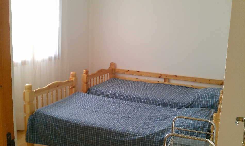 france holiday, rear bedroom 2, july 2012