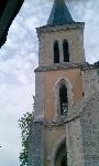 france dordogne restaurant st. barthelemy church