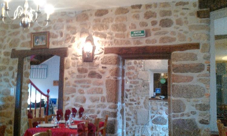 france dordogne restaurant st. barthelemy interior
